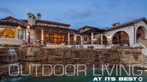 outdoor living - Sendero Homes, Austin