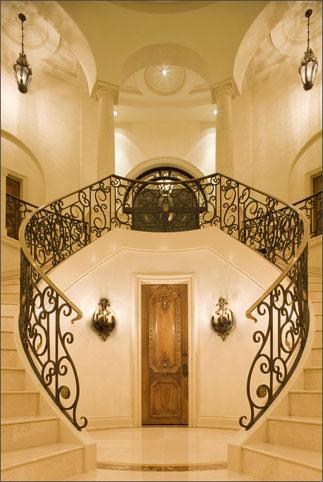 mirror image stairway