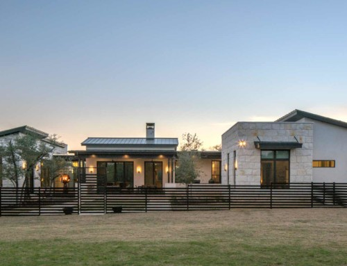 Hill Country ranch home